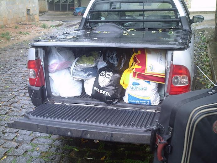 Alimentos entregues no CRAS de Alegre (Março 2011)