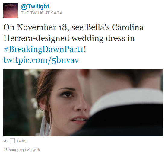 kristen stewart bella wedding dress. Confirmed: Bella#39;s Wedding