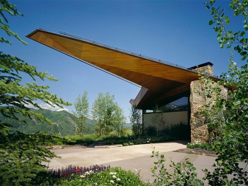 Organic architecture wildcat ridge house for Ridge house