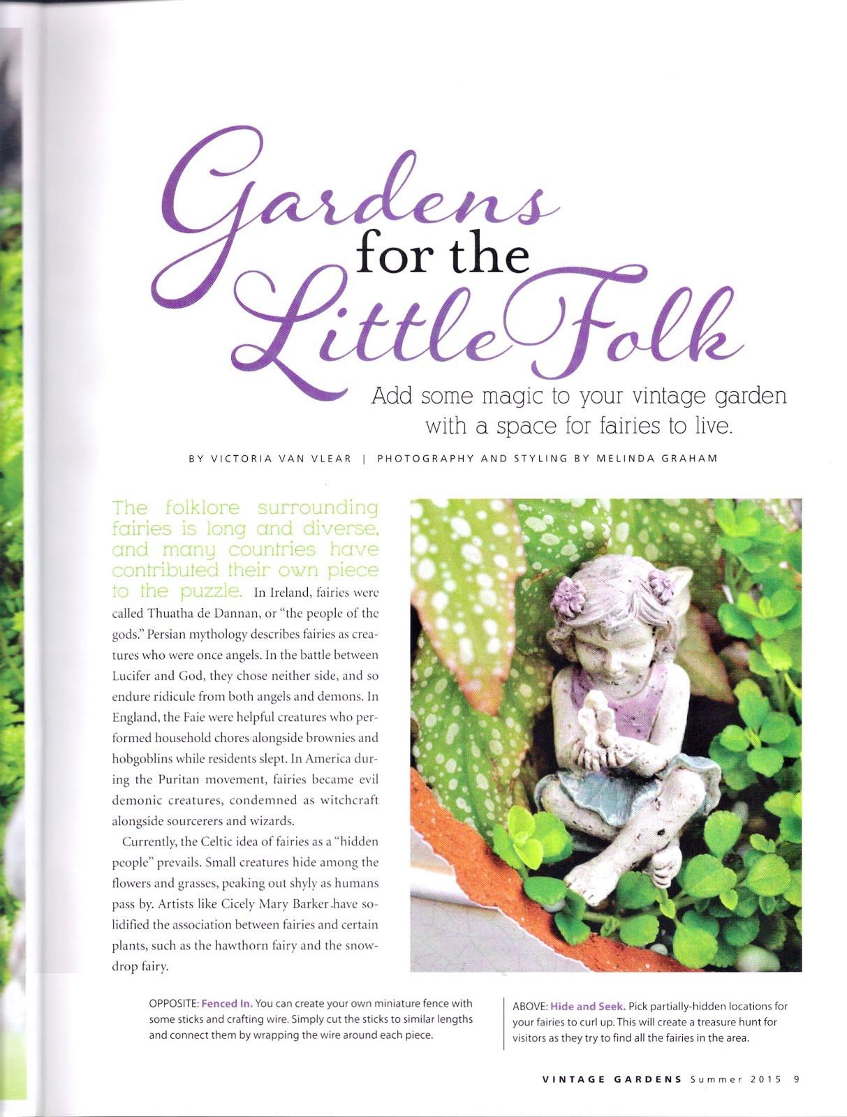 Vintage Gardener 2015