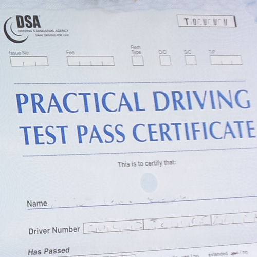 Pretty Driving Certificate Template Images The Best Photographs
