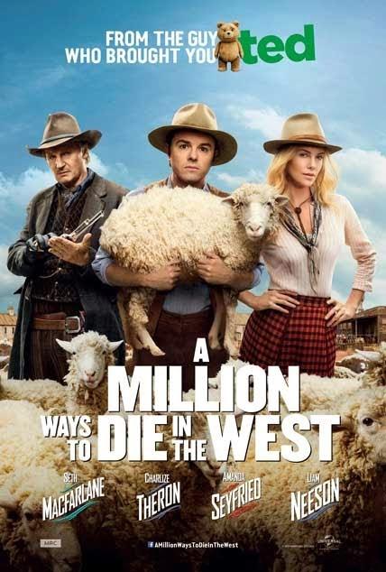 A Million Ways to Die in the West (2014) movie