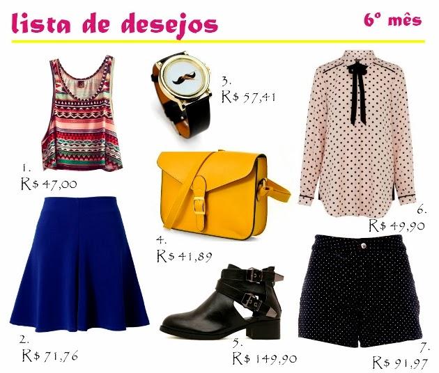 lista de compras, lista de desejos, looks descolados, wish list, comprinhas, achadinhos, achados, moda, blog de moda, fashion blog
