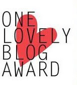 """ME"" One Lovely Blog Award"