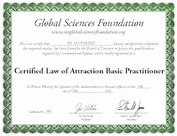 CERTIFIED LAW OF ATTRACTION PRACTITIONER