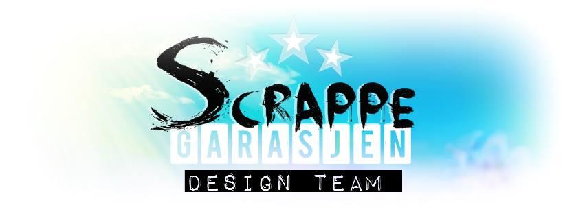 Jeg er stolt medlem av Scrappegarasjens designteam