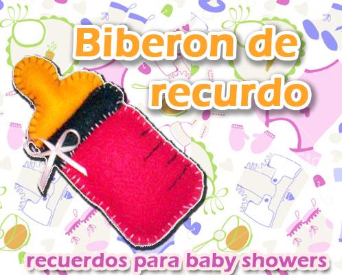 Recuerdos para Baby Shower