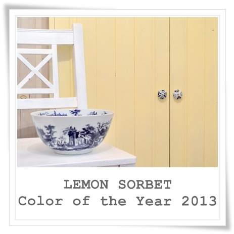 Lemon sorbet color of the year 2013 for Benjamin moore color of the year 2013