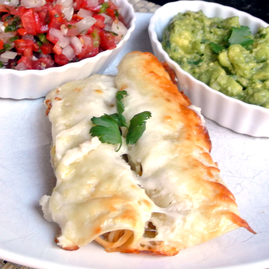 Mom, What's For Dinner?: White Chicken Enchiladas