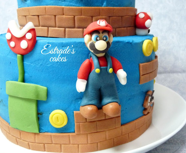 Tarta Mario Bros - Mario