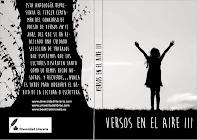 """Mi poema """"Es fácil"""" fue publicado en el libro Antología poética Versos al aire III"""