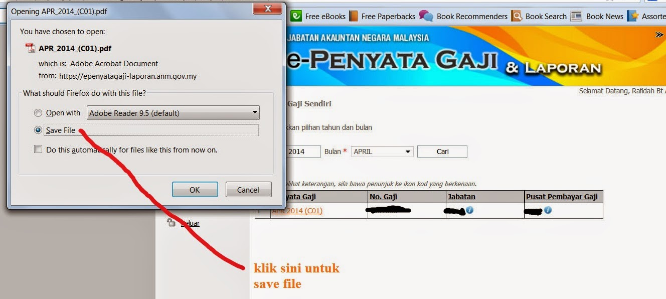 download e penyata gaji slip