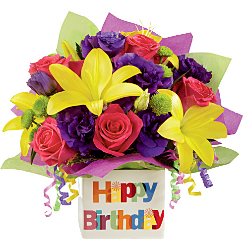 happy birthday flowers images  wishes images u, Beautiful flower