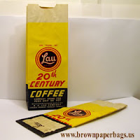 Small paper bags for coffee