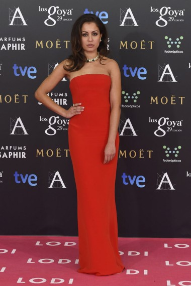 Hiba Abouk en Goya 2015