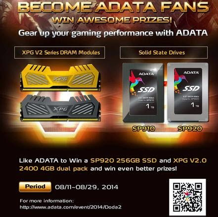 ADATA Sponsors DoTA 2 Dragon Battle Tournament in Southeast Asia