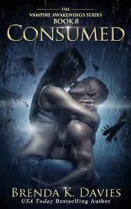Consumed (Vampire Awakenings, Book 8) is now available!