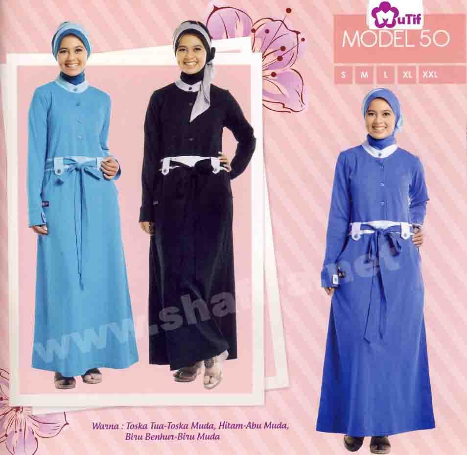 Katalog baju busana mutif terbaru 2012 eceran discount 10 Baju gamis nevada