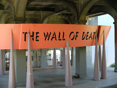 The Wall of Death public art installation