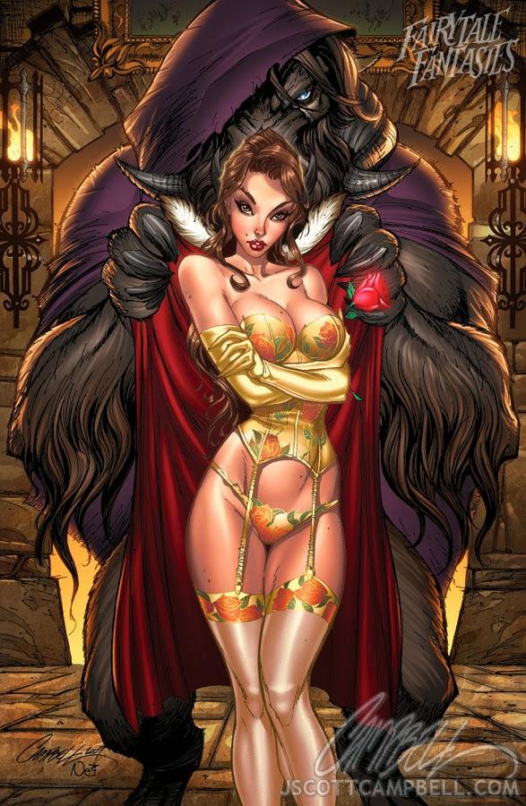 beauty and the beast Fairytale Fantasies Disney