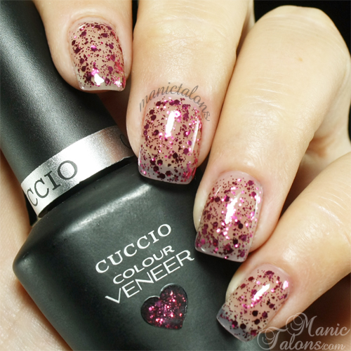 Cuccio Colour Veneer Fever or Love Swatch