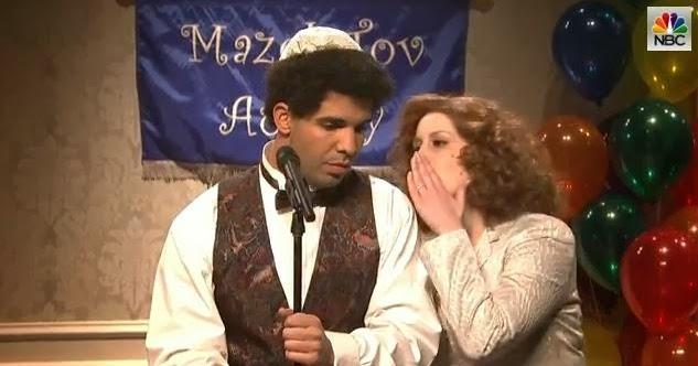 Drake Has A Bar Mitzvah Throwback In His SNL Opening ...
