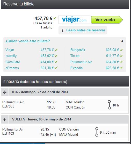 Cancun Air Pullmantur