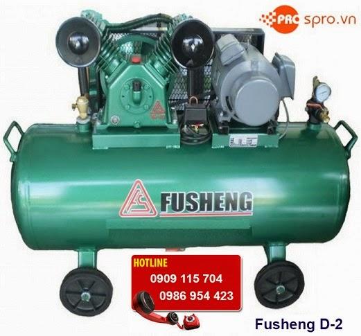 Máy nén khí Fusheng D-2 1 cấp bình chứa 60 Lít