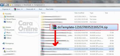 Cara modifikasi template blog kreasi sendiri1