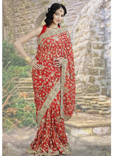 Golden Hue Sarees for Bride