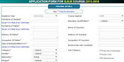 GNM COURSE Admission Nursing Odisha