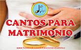 Cantos para Matrimonio