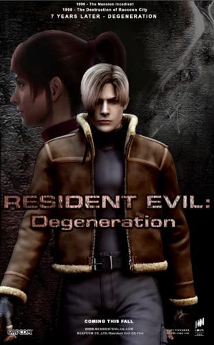 Assistir Resident Evil: Degeneration Dublado 2009
