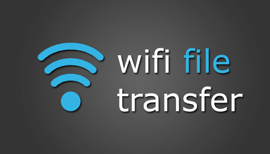 How to transfer files over Wi-Fi in android smart phones?