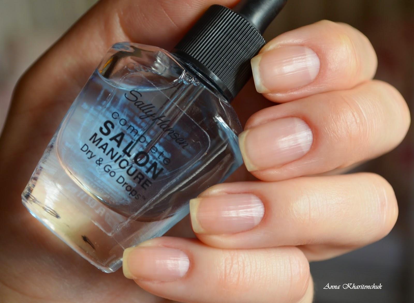 Sally Hansen Manicure Dry&Go Drops капли для быстрого высушивания лака