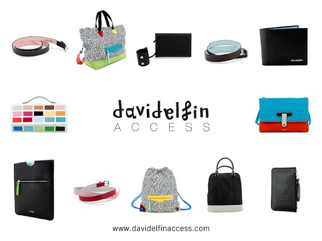Nueva linea de accesorios davidelfin ACCESS. Venta exclusiva online!