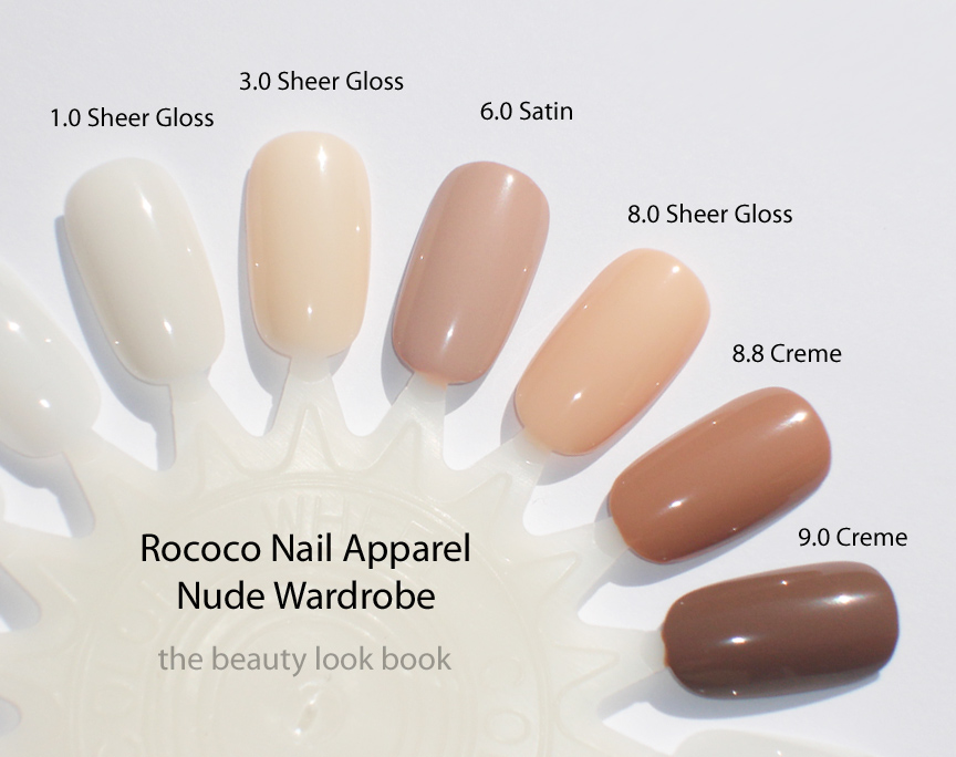 nude polish Sheer nail