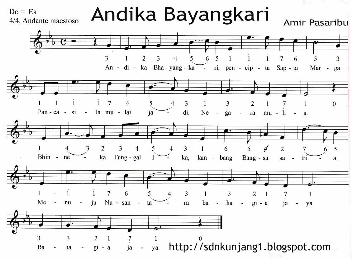 Lirik lagu Andhika Bhayangkari