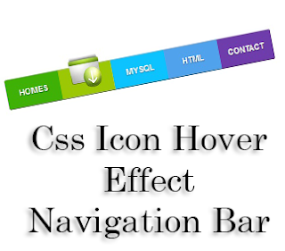 Css+Icon+Hover+Effect+Navigation+Bar