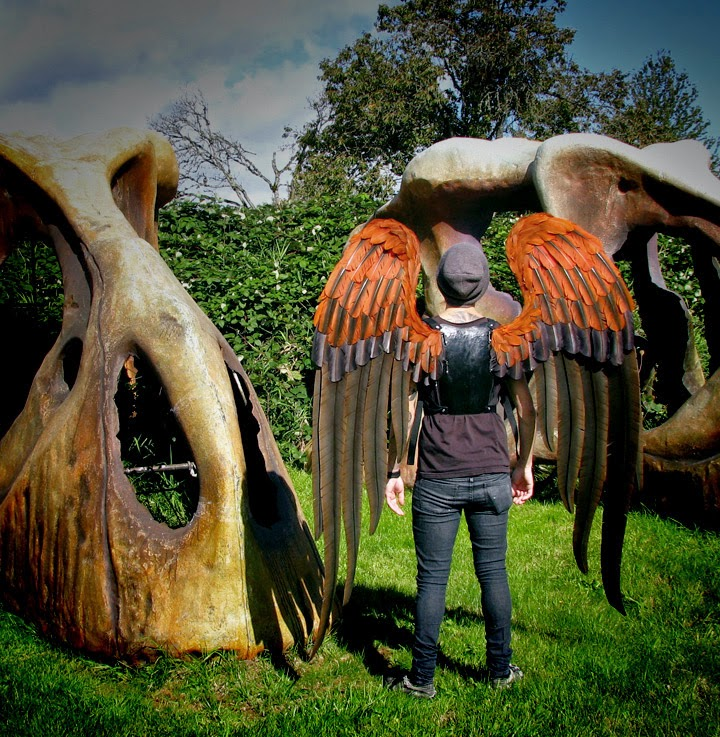 danielle hurley design TruWings Harris Hawk Costume Wings