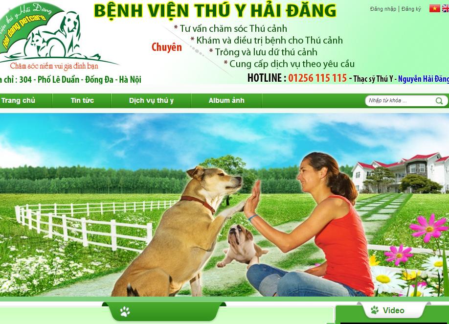 Template blogspot chăm sóc thú cưng vật nuôi