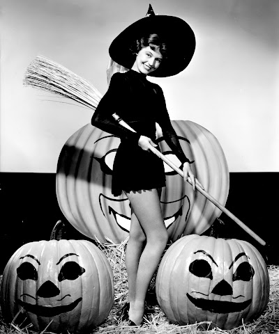 Cyd Charisse Halloween witch
