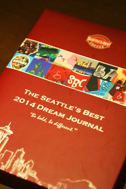 Seattle's Best Coffee Christmas Drinks & 2014 Christmas Dream Journal