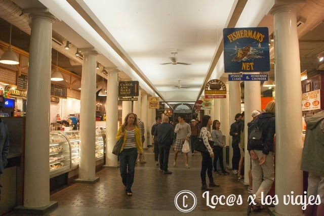 Quincy Market por dentro