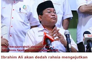 Presiden Pertubuhan Pribumi Perkasa Malaysia (Perkasa) Datuk Ibrahim Ali