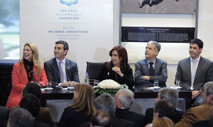 Cristina pas la secretar a de transporte a la rbita del for Secretaria del ministerio del interior