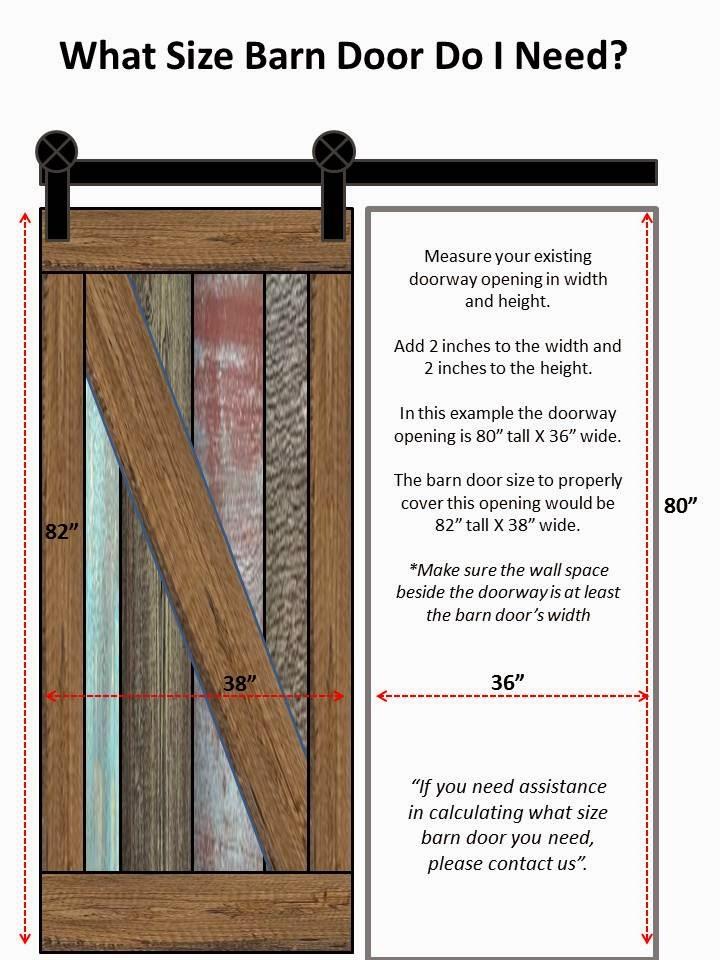 arizona barn doors october 2014 With barn door hardware sizes
