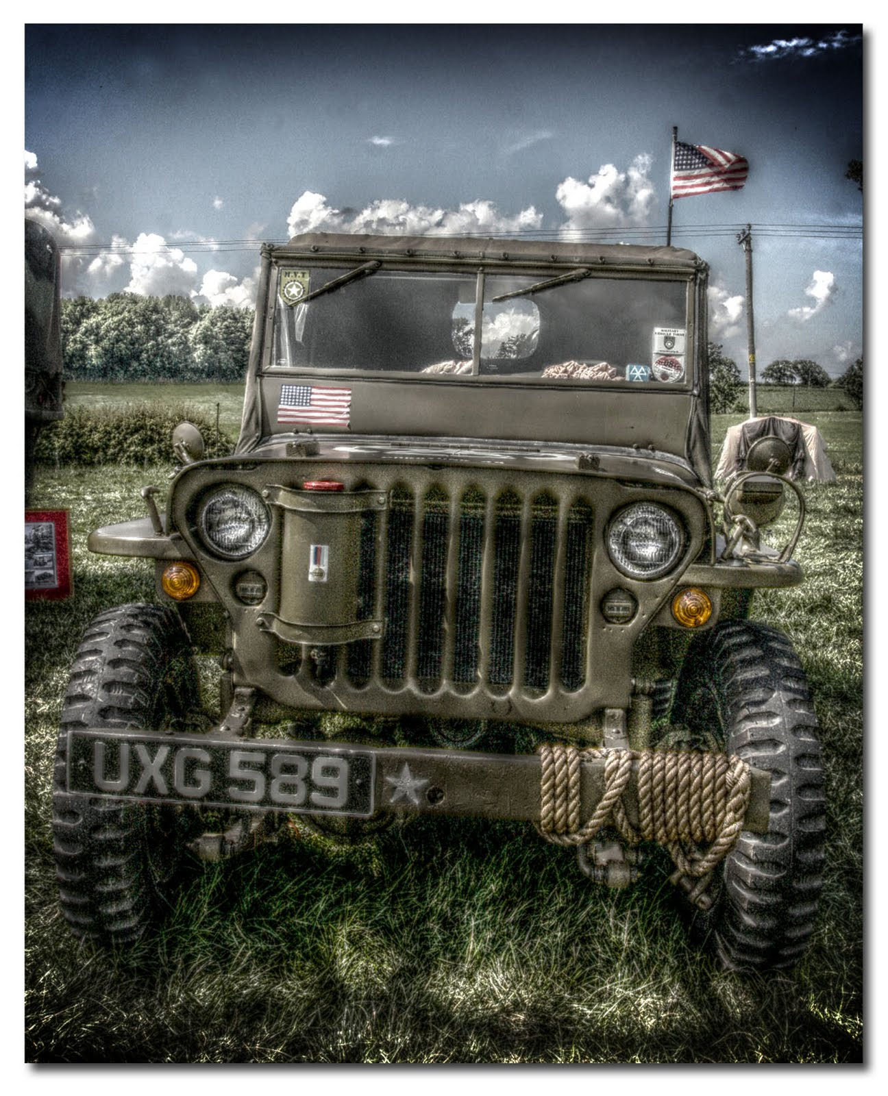 Welshphotoguy: US Army Jeep HDR Tonemapped