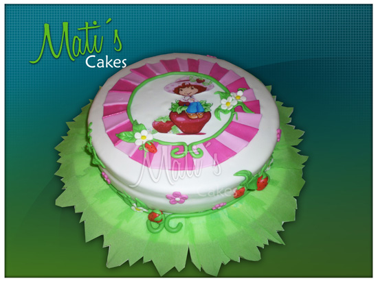 Modelos de tortas de fresita - Imagui