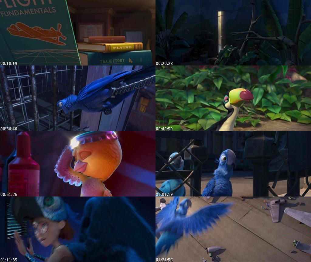 Rio (2011) [Animacion] [DVDScreener] [Español] [BS]